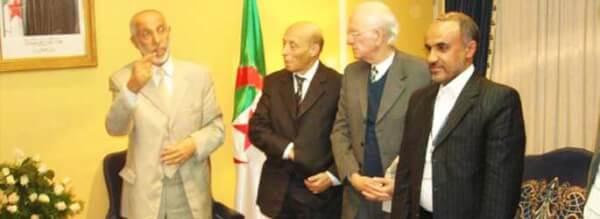 دیدار با معاون رئیس جمهور الجزایر در کارخ ریاست جمهوری